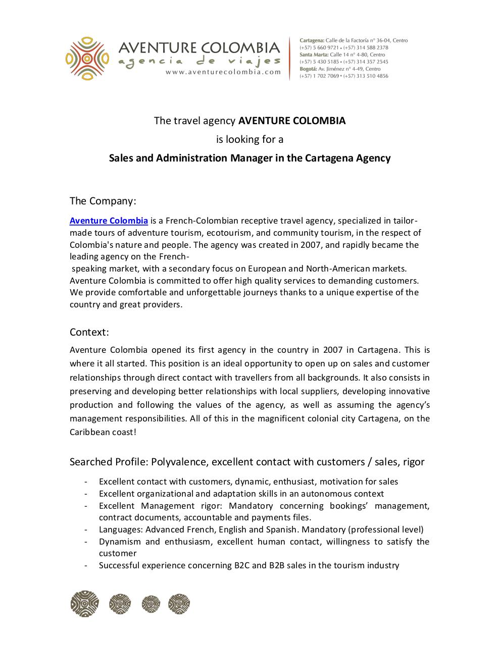 Agency Manager CTG Aventure Colombia 2015.pdf - page 1/3