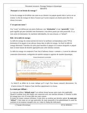 document ressource routage statique et dynamique