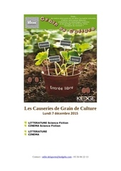 les causeries grain de culture 2015 12 07