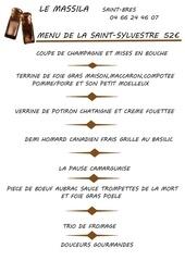 menu saint sylvestre 2015