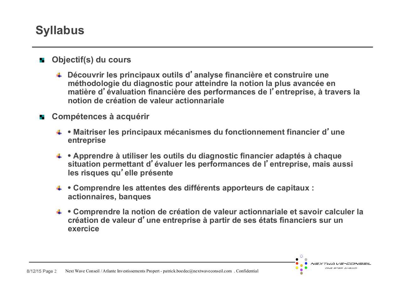 Corporate Advanced Finance V1 Fichier Pdf