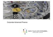 corporate advanced finance v1