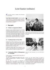 leon gautier militaire 1