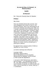 Fichier PDF 40 hadith fr