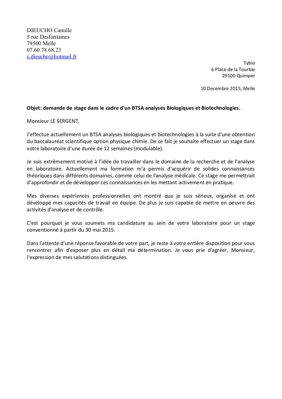 lettre de motivation soudeur pdf