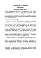 communique pole 14 12 2015