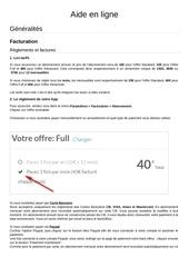 Fichier PDF reglements et factures