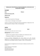 formulaire inscription stage magda pommier
