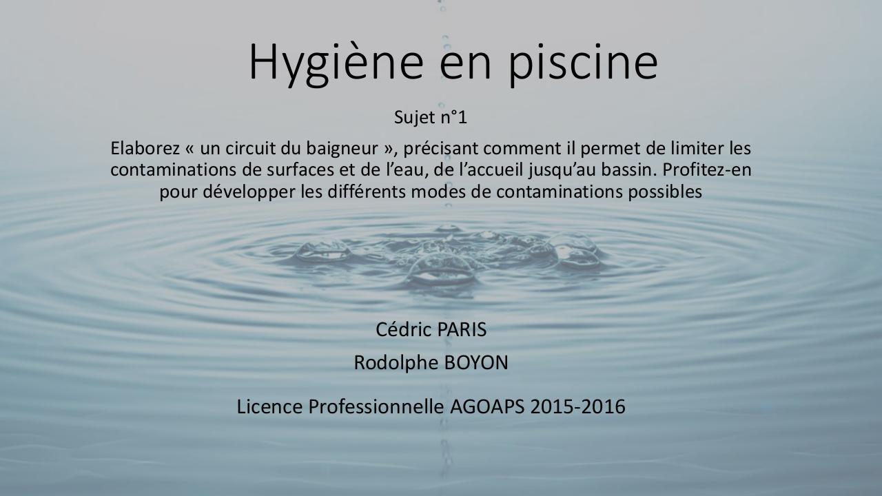 Plaquette bonnes habitudes piscines 2010 fichier pdf for Plaquette piscine