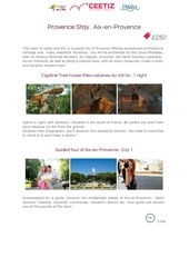 Fichier PDF provencestay