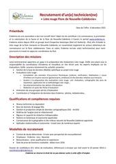 recrutement technicien rla 2016