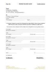 Fichier PDF contrat depot cheap and chic