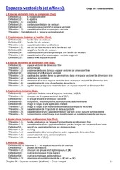 04 espaces vectoriels et affines cours complet