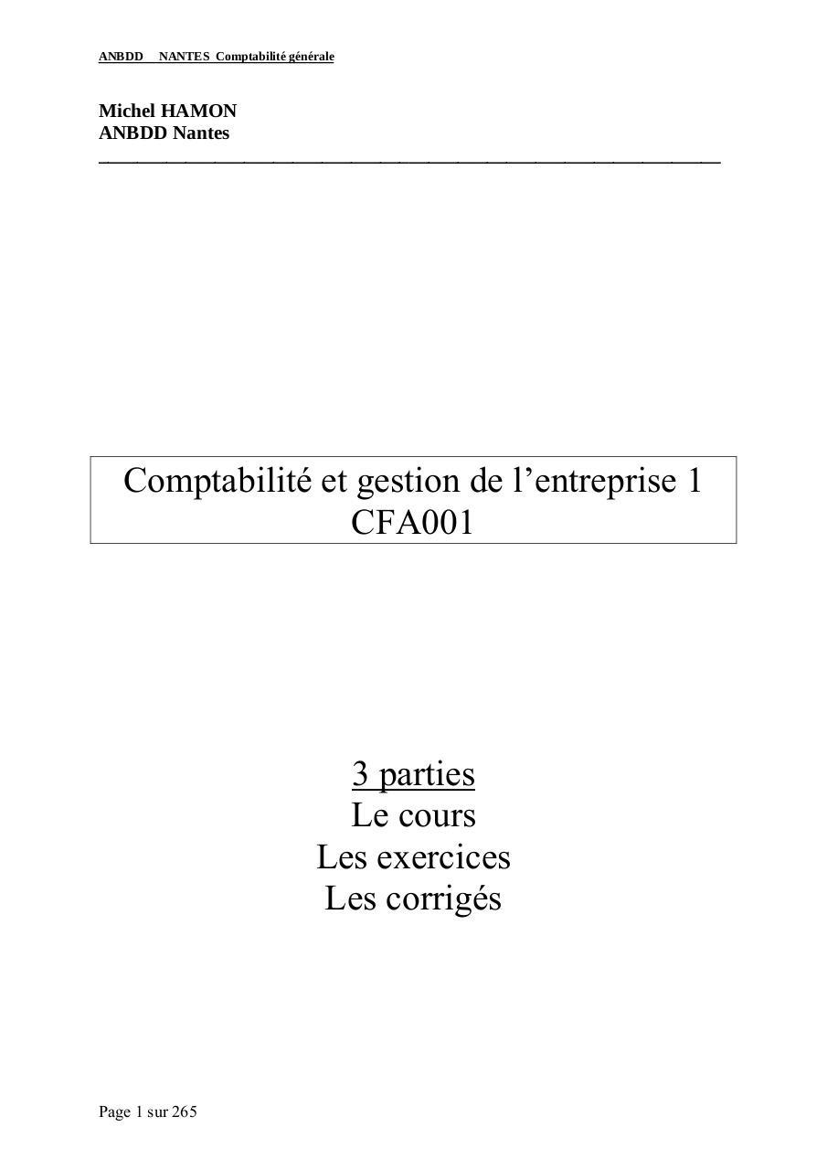 Recherche Pdf Corrige Examen Gestion Revision Comptable Tunisie