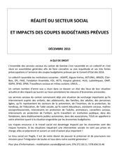 dossier de presse secteur social economies budgetaires decembre 2015 1