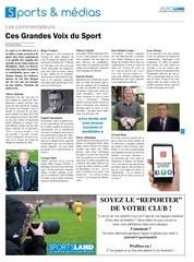 sportsland 173 voix sport