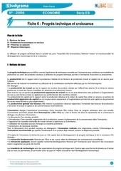 cours economie 06