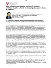 effect du trt saos sur hta mete a 51 essai 2015