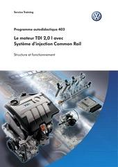 le moteur tdi 2 0l avec systeme d injection common rail