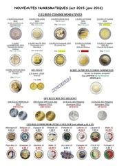 liste euros de collection