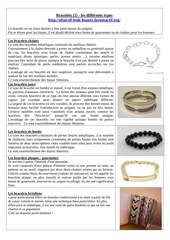bracelets 1 les differents types