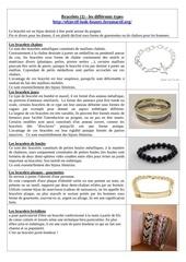 Fichier PDF bracelets 1 les differents types