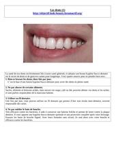 Fichier PDF les dents 1