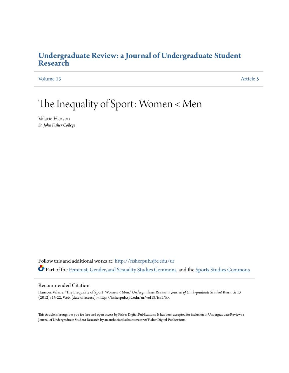 The Inequality of Sport.pdf - page 1/10