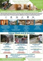 brochure sejour cyclisme