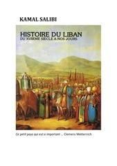 Fichier PDF histoire du liban du xviieme siecle a nos jours