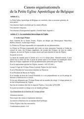 Fichier PDF canons organisation