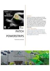 commander les patchs powerstrip