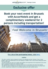 feel welcome in brussels outbound
