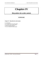Fichier PDF polycopie bioch metab ii chap iv 3e a lf 2015 2016