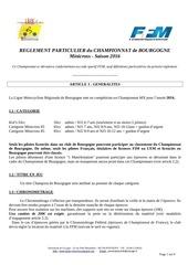 reglement chpt minicross 2016