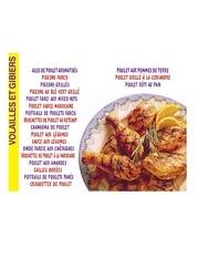 Fichier PDF cuisine arabe