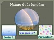 la nature de la lumiere 1