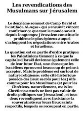 Fichier PDF les revendications des musulmans sur jerusalem