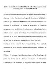 lettre de condoleances famille ait ahmed 2