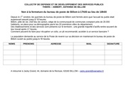 Fichier PDF petition poste billom