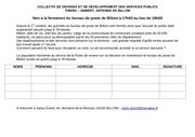 petition poste billom