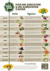 poster fruits legumes saison