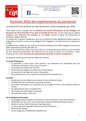 election 2015 profession de foi