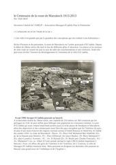 le centenaire de la route de marrakech 1913