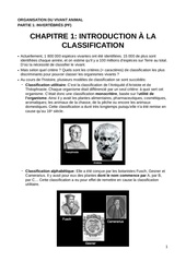 ova c1 introduction a la classification pdf c