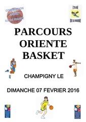 parcours oriente basket regional 7 fevrier 2016