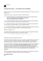 texto aux francais 1