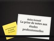 Fichier PDF atelier formatif sur la prise de notes copie etudiants