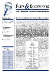 faits et documents 271