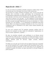 Fichier PDF repas du soir ideal